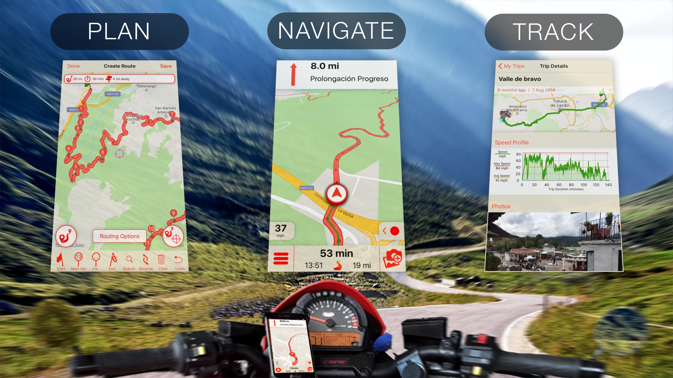 Best Motorcycle Apps for Ride Planning, GPS Navigation and ...