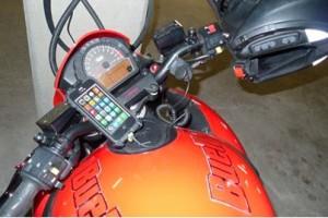 iPhone as Motorcycle GPS