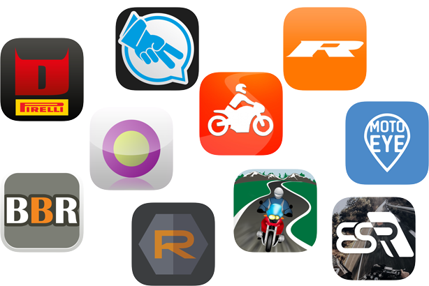 Best GPS Motorcycle Apps for Navigation and Tracking - BestMotorcycleApps_Icons