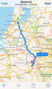 The 13 best Motorcycle Navigation Apps reviewed - applemapsscreenshot