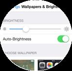 iPhone as Motorcycle GPS - brightness