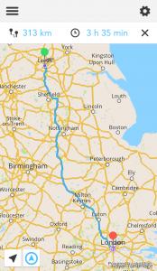 The 13 best Motorcycle Navigation Apps reviewed - gpsnavigationscreenshot