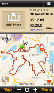 The 13 best Motorcycle Navigation Apps reviewed - motionxscreenshot